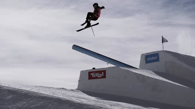 Freeski Worldcup Stubai 1017 in slowmotion