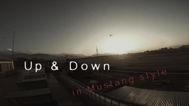 Up and Down in Mustang style