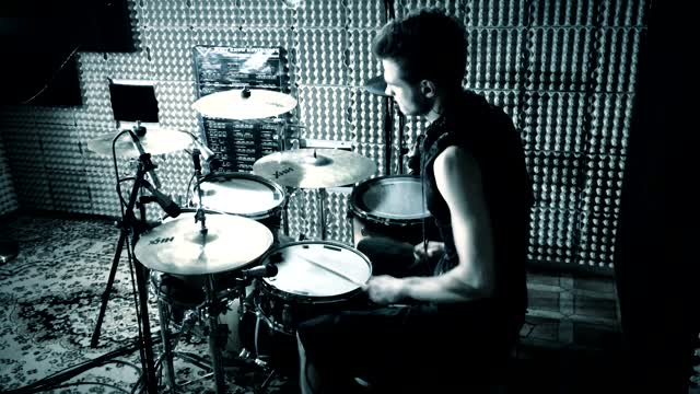 Trivium - In Waves - Drum Cover by CDC