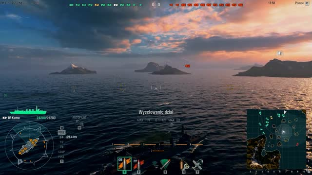 World of Warships z Krzyśkiem